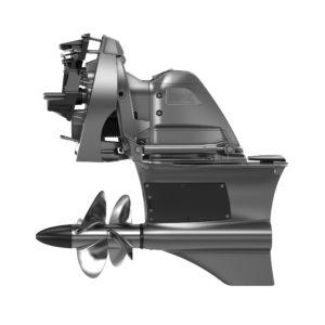"""Forward Drive toimii samoin kuin IPS-vetolaite eli """"vetää"""" venettä eteenpäin. Sen hyöty normaaliveneessä on kyseenalainen."""